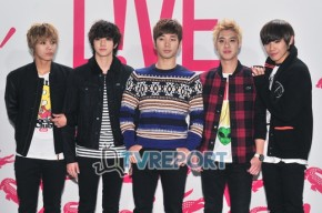 MBLAQ for LACOSTEL!VE